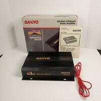 Vintage Sanyo PA7520 Power Amplifier 140 Watt 4 Channel Car Audio Amp Project