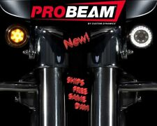 PB-AW-1157 CUSTOM DYNAMICS ProBEAM Amber/White LED Turn Signals for HARLEY, PAIR