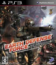 Used PS3 Earth Defense Force SONY PLAYSTATION 3 JAPAN JAPANESE IMPORT
