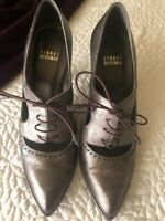 Gently Loved STUART WEITZMAN LEATHER OXFORD SIZE 7.5M