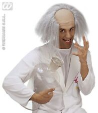 Einstein Wig White with Bald Head Men's Carnival