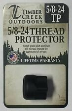 TIMBER CREEK 5/8-24 MUZZLE THREAD PROTECTOR .308 / 7.62  - CERAKOTE BLACK