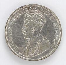 1932 Canada Silver 25 Cent George V Km24a - VF #01281891g
