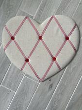 Heart Shaped Padded Notice Board