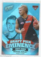 2013 Prime Select Draft Pick Eminence (DPE30) Michael HURLEY Essendon