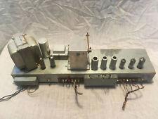 Hammond Ao-28 Tube Preamplifier B-3, C-3, Rt-3, A100 Vintage Silver Transformer