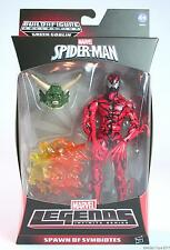 """MARVEL Legends Spider-Man Carnage 6"""" Action Figure uova di symbiotes TOY-NUOVO!"""