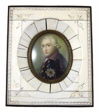 Miniaturmalerei Friedrich des Großen nach Anton Graff, 2.Hft. 19.Jh.