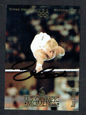 Bart Conner #47 signed autograph auto 1996 Upper Deck Olympic Trading Card