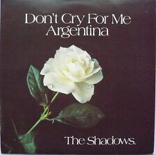 "THE SHADOWS - Don't Cry For Me Argentina / Equinoxe (Part V) (2 x 7"" P/s Single)"