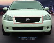 Fedar Fits 2005-2006 Nissan Altima Black Overlay Main Upper Billet Grille