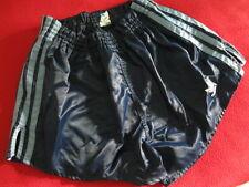 Old School Adidas Short Brillance Sprinter Nylon Shiny Racer Rétro Vintage Taille M
