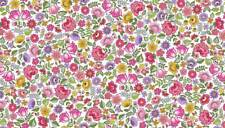 BLOOM - Chintz Pink Cotton fabric GREAT VALUE Size 55cm x 50cm larger available