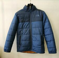 The North Face Boy's Sherpa Jacket Coat Navy Blue  Puffer Size Large