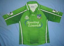 Limerick GAA / 2005-2007 Home - O'NEILLS - JUNIOR Shirt / Jersey. Size: 9-10