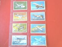 1981 Wills WORLD OF SPEED planes cars boats  set 36 cards Tobacco Cigarette