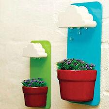 Cute Cloud Hanging Plant Flower Pot Planter Home Garden Rainy Balcony Decor