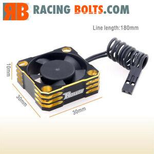 Surpass Rocket 30mm Aluminium High Speed 28000rpm fan Gold / Black UK Stock