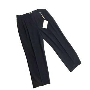 Emporio Armani Pants Navy Woman Authentic Used E151