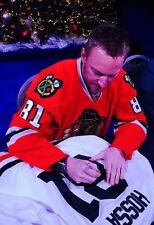 Chicago Blackhawks MARIAN HOSSA signed auto Classic Jersey JSA COA PHOTO PROOF