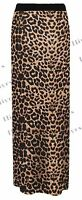 Ladies Girl GYPSY SKIRT Maxi Dress Plus Size Jersey Long Stretchy lot 8-26 women