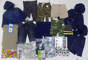 Boys 21 Piece Clothing and Accessory Set - Size: 2T-4/5 - New with Tags