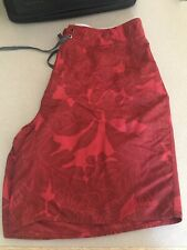 Patagonia Swim Shorts Trunks Red Floral 36