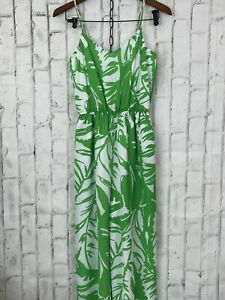 Lilly Pulitzer Target 20th Anniversary Green/White Boom Boom Jumpsuit NWOT XS