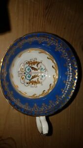 Beautiful and Rare Royal Grafton Handpainted  Crested Wide Mouthed Cup no saucer