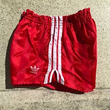 Vintage ADIDAS Shorts | Beckenbauer Chile D6 Nylon Shiny Glanz | West Germany