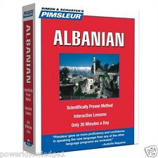 Pimsleur Albanian Language 5 CD Learn to Speak - NEW