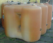 4x Kautex Öltanks 1100 L | Batterietank Heizöltank mit Füll und Entnahmearmatur