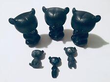 Disney Store Pixar Brave Grey / Black Bear Figures Bundle Collectable Rare