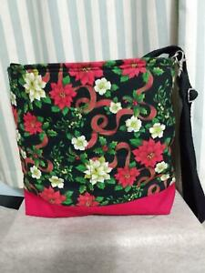 Christma's  Quilted Crosssbody Bag