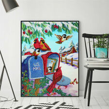 Christmas Gift 5D DIY Diamond Painting Snow Embroidery Cross Stitch Home Decor