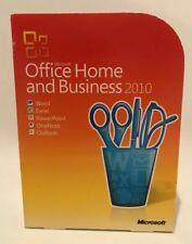 Microsoft Office 2010 Home and Business, T5D-00159, Full UK Retail box, 2 PC's