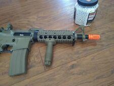 New listing Lancer Tactical LT-04T M4A1 AEG Full Semi Auto RIS Tan Metal Gear Airsoft Rifle
