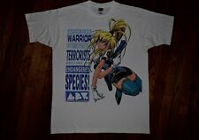 1996 Burn Up W warrior vintage 90s manga anime t-shirt sci-fi akira tv show XL