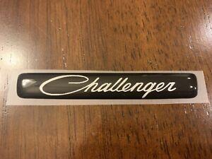 Challenger Steering Wheel Badge 2015-Present