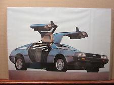 vintage 1983 De Lorean classic car original poster 7981