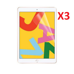 3 Pack For Apple iPad 10.2 Screen Protector Ultra Clear TPU Apple iPad (7th Gen)