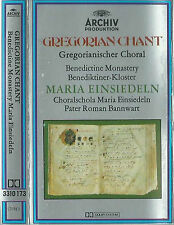 Maria Einsiedeln Tradition Of The Gregorian Chant I CASSETTE ALBUM Archiv