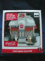 Coca-Cola 2004 Town Square Collection Village Kate's Diner Blue Plate Specials