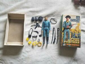 Marx Johnny West Zeb Zachary in original box Some Accessories Very Rare