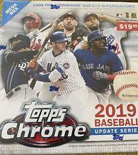 2019 TOPPS CHROME BASEBALL UPDATE SERIES MEGA BOX