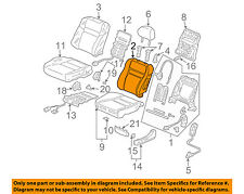 Honda Genuine 81140-TA6-A61ZC Headrest Assembly Front