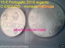 10 euro 2010 argento Portogallo O ESCUDO  Portugal