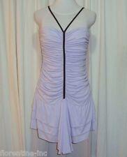 """BEAUTIFUL SASS&BIDE LILAC RUCHED MINI DRESS AUS 12/14 """"CROOKED WINDING LANES"""""""