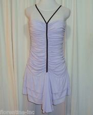 "SASS&BIDE LILAC RUCHED MINI DRESS 40/4 (AUS 10/12)""CROOKED WINDING LANES"""