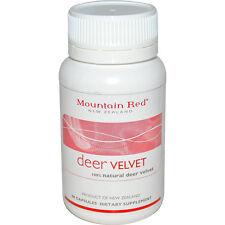 Mountain Red Deer Velvet Capsules. 60 Capsules of 100% Natural Deer Velvet